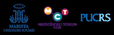 Logo Museu de Ciências e Tecnologia PUCRS